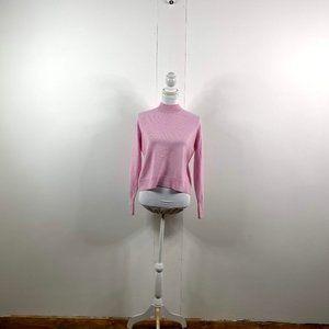 everlane women cashmere sweater sz  small  pink